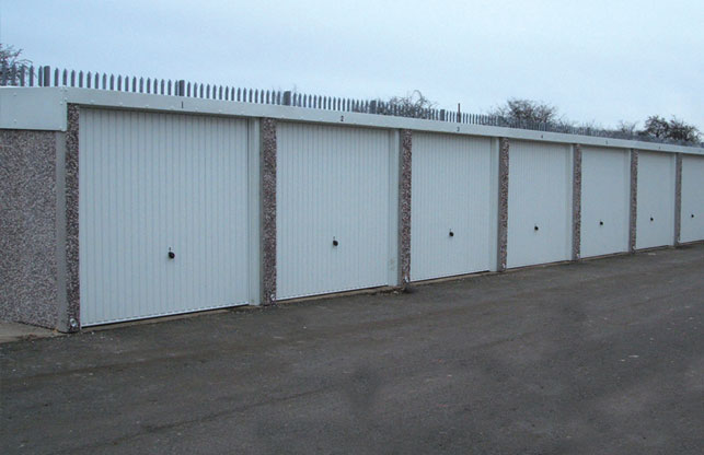 New Battery Garages