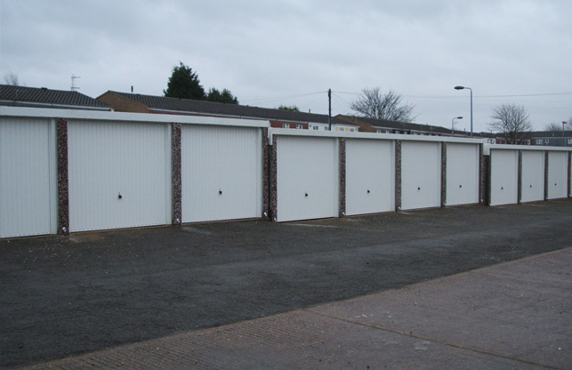 Battery Garages with Modern Finish