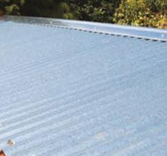 galvinsed roof