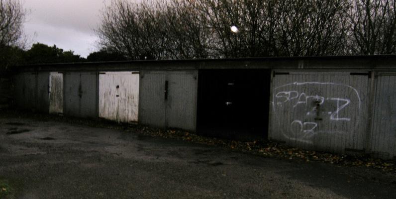 garage revamp before