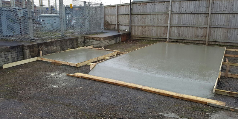 concrete base project